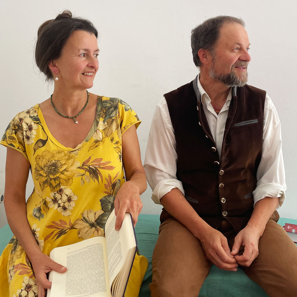 Aude Sapere Homöopathen Christine Lauterbach und Andreas Hundseder